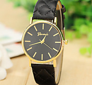 New Fashion Leather Strap Geneva Watches Women Dress Watches Quartz Wristwatch Watches Cool Watches Unique Watches