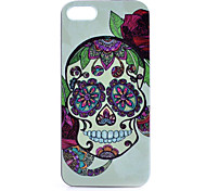 Skull Pattern PC Phone Case For iPhone 5/5S