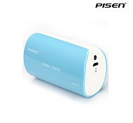 Pisen Funny Power 5000mAh Universal Power Bank  External Battery Pack with LED Flashlight iphone 6 plus/5/5S and More