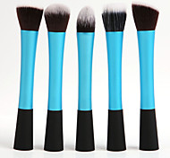 5Pcs Cosmetic Makeup Brushes Set (4 colors)