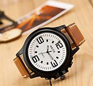 relógio de negócios da moda grandes números de esporte dos homens de quartzo (cores sortidas)