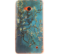 Apricot Blossom Design TPU + IMD Phone Case For Nokia N640