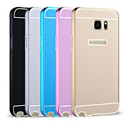 Premium Aluminum Metal Frame Acrylic Back Cover Set Case For Samsung Galaxy Note 5 (Assorted Colors)