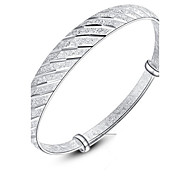 WH  Silver Meteor Shower Bangles