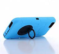 três anti-, impermeável, resistência queda, caso poeira conjuntos de telefone de silicone proteger para iphone 6 mais