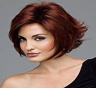 Popular Stylish Mix Color Short Curly Synthetic Hair Wigs