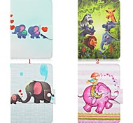 Elephant Pattern High Quality PU Leather with Stand Case for 10 Inch Universal Tablet