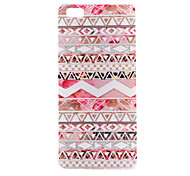 Pink Pattern Thin Transparent TPU Soft Phone Case for Huawei P8 lite/P8