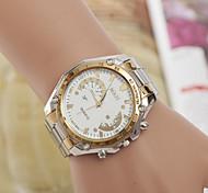 Men's  Watch Quartz Swiss Alloy Watch Fashion White Diamond With Watches