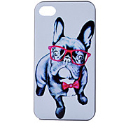 Puppy  Pattern PC Hard Case for iPhone 4/4S