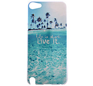 Beautiful Beaches Live Pattern PC Hard Back Cover Case for iPod Touch 5