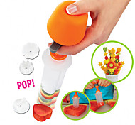 Pop Vegetable Fruit Decorating Device Model