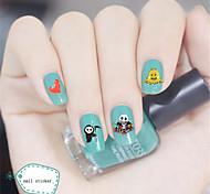 3Pcs/Lot 3D Nail Designs Nail Stickers Decals Nail Art All Saints' Day