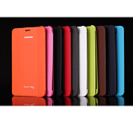 Ultra-thin Smart Magnetic Stand Leather Case for Samsung Galaxy Tab 3 Lite T110 Assorted Color