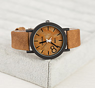 Fashion PU European Style Vintage Unisex Watches Wood Watch Men And Women Watch Cool Watch Unique Watch