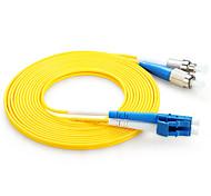shengwei® lc (UPC) -fc (UPC) simplex patch cord in fibra doppia anima 3m / 5m / 10m
