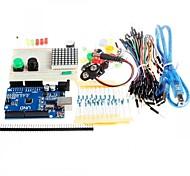 Nuevo Uno kit de inicio r3 Mini tablero llevado botón de cable de puente para compatile arduino