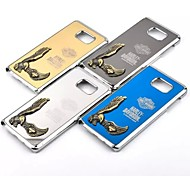 The Eagle metal The New Metal wire Drawing Case Cover for Samsung Galaxy S6 /S6edge plus