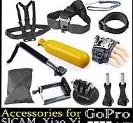 Accessoires GoPro Avec Bretelles / Sangle de Poignet / Accessoires Kit Etanches / Flottant, Pour-Caméra d'action,Gopro Hero 2 / Gopro