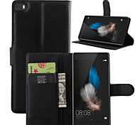 Wallet Flip PU Leather Cell Phone Case Cover For Huawei P7/P8/P8 Lite/G6/G7/C4