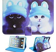 pintado caja de la PC de la tableta soporte para ipadmini1 / 2/3