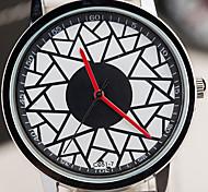 Vintage-Mode geometrische Muster Quarzuhr Unisex Uhren