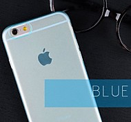 High Quality Ultra Thin Frosted Back Cover for iPhone 6 (Assorted Colors)