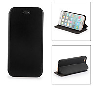Durable PU Leather Case for iPhone6 - Black