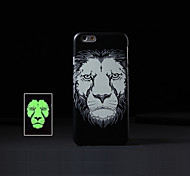 Ultra-thin Animal 2 Style Pattern Luminous Mobile Phone Back Case Cover Protection Shell/Skin for iPhone 5/5S