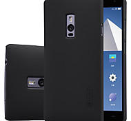 For OnePlus Case Frosted Case Back Cover Case Solid Color Hard PC One Plus