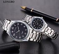 LONGBO Lover's Quartz Watches 2015 Fashion Women Watch & Wen Watch Luxury Brands For Business