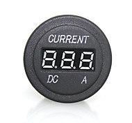 High Quality Digital LED Red Light Indicator Ammeter for 12/24V Auto Car Motorcycle Measuring Panel Plug Socket