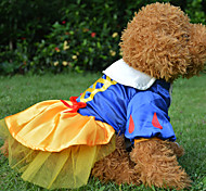 Dog Dress Blue Dog Clothes Winter Characters Wedding
