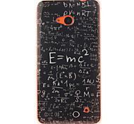 Mathematical Function Design TPU + IMD Phone Case For Nokia N640