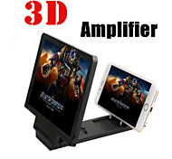 3D New Enlarged Screen Mobile Phone Video-Frequency Amplifier / Phone Case Cover