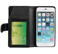 multi-fonctionnel portefeuille téléphone portable PU pour iphone6s