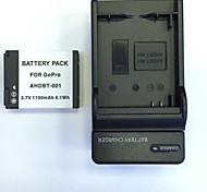 US 4.2V BT001/BT002 Home Charger +(1PCS)Battery  for Gopro  Hero1  Hero2 AHDBT-001/002