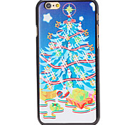 Christmas Style Gifts under Tree Pattern PC Hard Back Cover for iPhone 6 Plus