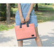 "11.6"" 12"" 13.3""15.4""Single Shoulder Laptop Bag Briefcase File Package Leisure Bag for MacBook Women"