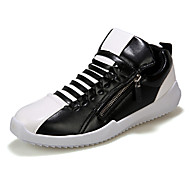 Men's Shoes Outdoor / Casual Fashion Sneakers Black / White