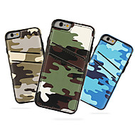 iCoverCase Camouflage Style TPU Leather Cover with Card Slot for iPhone 6 6s