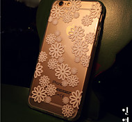 MAYCARI®Sweet Spring Transparent TPU Back Case for iPhone 6/iphone 6S
