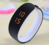 Unisex Fresh Color LED Bracelet Plastic Watch