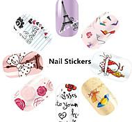 1pcs 3D Fine Nail Stickers