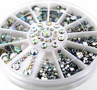 1pcs Nail AB Drilling Nail Wheel