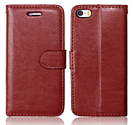 PU Leather + TPU Back Cover Wallet Case Flip Cover Photo Frame Case for iPhone 5/5S