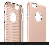 High Quality So Cool Antiskid TPU+PC Back Cover for iPhone 6/6S (Assorted Colors)
