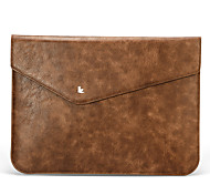 Jisoncase Cooling Luxury Vintage Original Leather Sleeve Case Sleeve Carry for Apple MacBook Air/PRo retina 13""