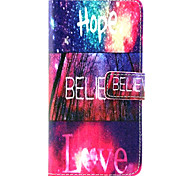 Hope  Pattern PU Leather Case with Money Holder Card Slot for Galaxy Grand Neo/ GALAXY CORE Prime/ Galaxy Grand Prime