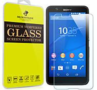 Mr.northjoe® Tempered Glass Film Screen Protector for Sony Xperia E4
